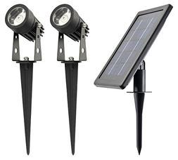 WARM WHITE - ALUMINUM Lamp - Robust Spotlights //HUGE 3W Sol