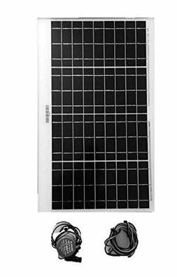 Amtrak Solar Water Fountain Pump with 40 W Solar Panel