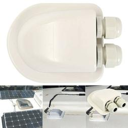 Double Cable Entry Gland ABS Solar Panel Double Cable Gland
