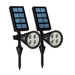 Waterproof Solar Garden Lights - Battery Powered Outdoor Sen