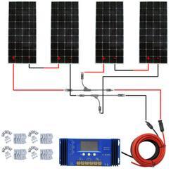 800W Watt 12V Complete Grid Tie KIT:5*160W Mono Solar Panel
