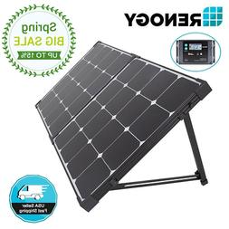 Renogy 100W Watt 12V Eclipse Solar Panel Mono Foldable Suitc
