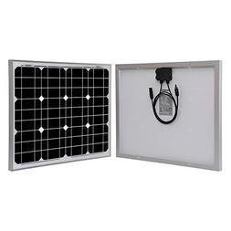 Renogy 50W Watt Monocrystalline Solar Panel