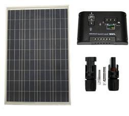 WindyNation 100 W Watt Polycrystalline PV UL1703 Solar Panel