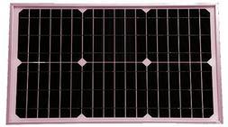 25w Watts Mono Solar Panels Tempered Glass & Al Frame Rvs Bo