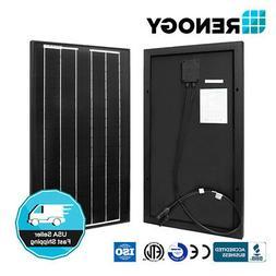 Renogy 30W 30 Watt Mono Solar Panel 12V Off Grid PV Power Ca