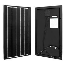 Renogy 30W 30 Watt Mono Solar Panel 12V Off Grid Battery Cha