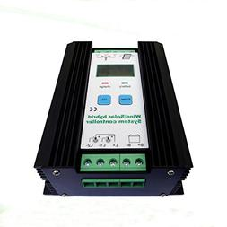 JNGE JNGE POWER 1200W Wind Solar Hybrid Controller 50A 24V A