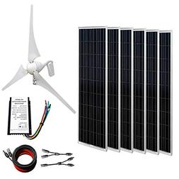 ECO-WORTHY 24V 1KW Wind Solar Power: 1pc 12V/24V 400W Wind T