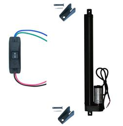 WindyNation 12V Linear Actuator + UP Down Switch + Mounting