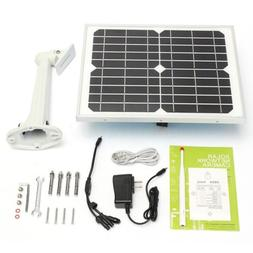 Wireless Outdoor Solar Battery Security IP Camera Wifi Web S