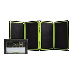 Goal Zero Yeti 400 Lithium Solar Generator Kit with Nomad 28