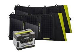 Goal Zero Yeti 400 Solar Generator Kit with Two Nomad 20 Sol