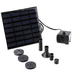 Eshion YSC000025 Danibos Outdoor Solar Power Panel Kit Bundl